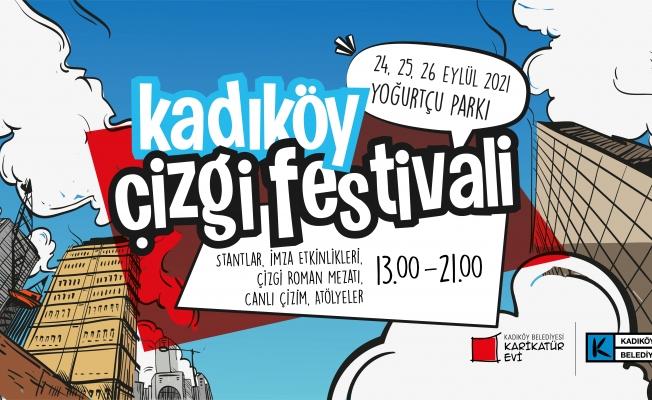 Kadıköy Çizgi Festivali Programı Belli Oldu