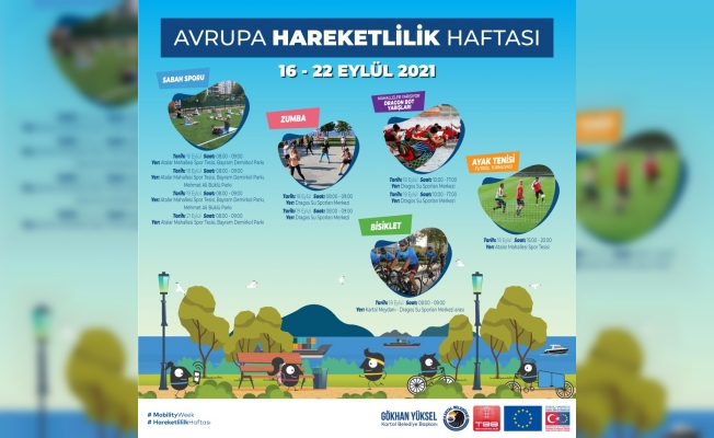 Kartal Belediyesi, Avrupa Hareketlilik Haftası'nda Sporseverleri Buluşturuyor