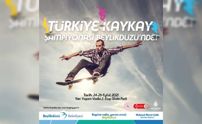 Türkiye Kaykay Şampiyonası Beylükdüzünde nde