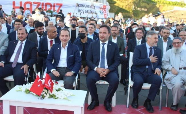 Yeniden Refah Partisi Artık Salonlara Sığmıyor, 2.Olağan Kongresini Meydan'da Yaptı