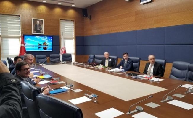 Gelecek Partisi adına Güçlendirilmiş Parlamenter Sistem 6'lı çalışmalarına katılan Genel Başkan Yardımcısı Ayhan Sefer Üstün gelişmelerle ilgili bilgi verdi.