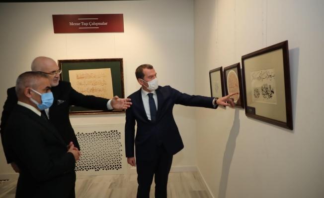 Hattat Mustafa Halim Özyazıcı Sergisi'nin Açılışı, Kazlıçeşme Sanat'ta Gerçekleşti