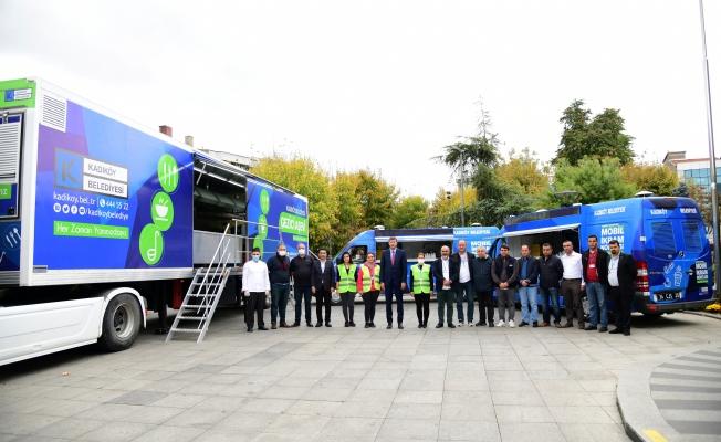Kadıköy'de Gezici Aşevi Hizmete Girdi