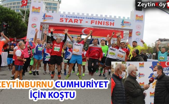 Zeytinburnu Cumhuriyet Koşusuna Büyük İlgi (VİDEOLU)