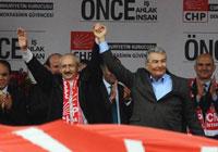Kılıçdaroğlu'na mitingde söz verilmedi