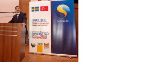 'İsveç Tarzı Sürdürülebilir Kalkınma' Konferansı KKM'de yapıldı