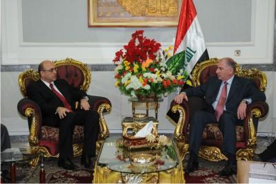 YÖK Üyesi ve İstanbul Üniversitesi Rektörü Prof. Dr. Yunus Söylet Irak'ta