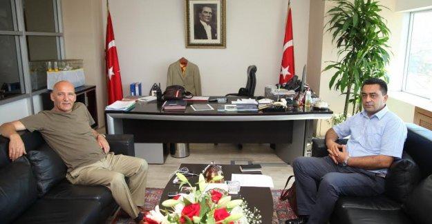 Alevi Bektaşi Federasyonu Genel Başkanı Baki Düzgün'den Başkan Öz'e ziyaret