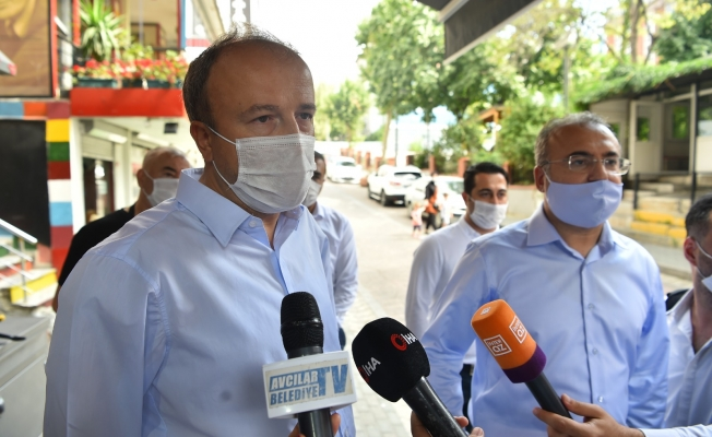 Avcılar'da Korona Virüsü Karşı Sıkı Denetim
