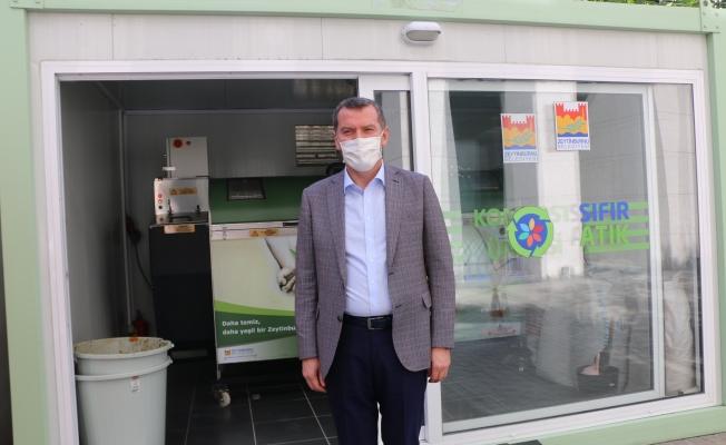"""Çevre ve Şehircilik Bakanlığı'ndan ilk """"Sıfır Atık Belgesi"""" Zeytinburnu'na"""