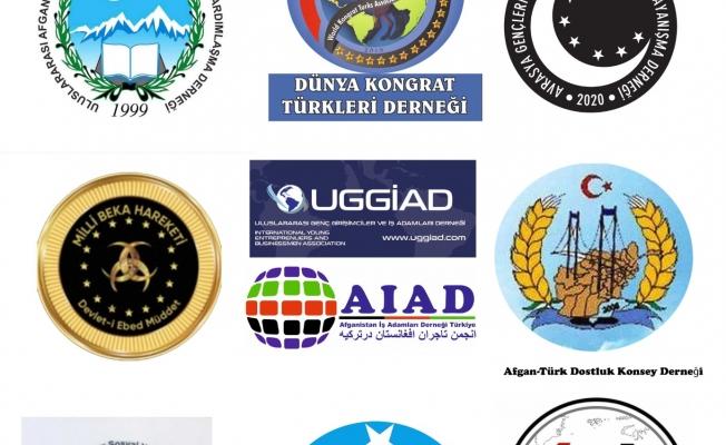 Afganistanlı Soydaş Derneklerden Yaşanan Olumsuz Gelişmelere Dur Mesajı
