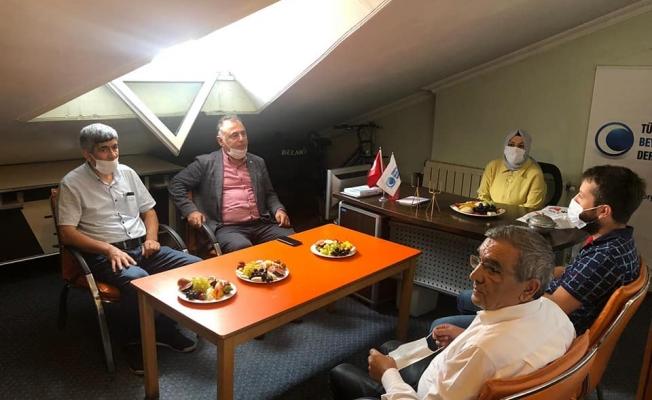İSPARK Başkan Vekili Sağlam Beyazay Derneğini Ziyaret Etti