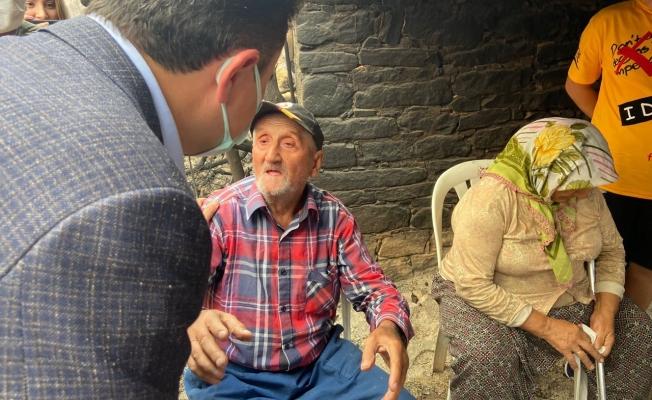Ali Babacan Afet Bölgesinde
