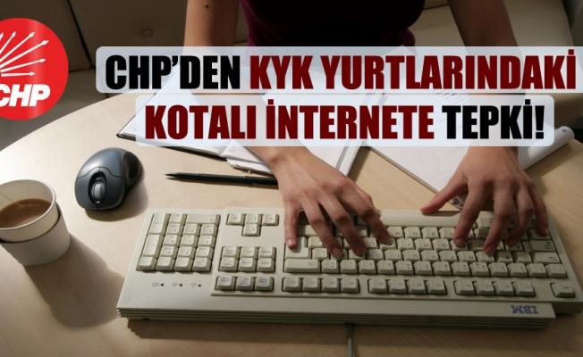 CHP'den KYK Yurtlarındaki Kotalı İnternete Tepki