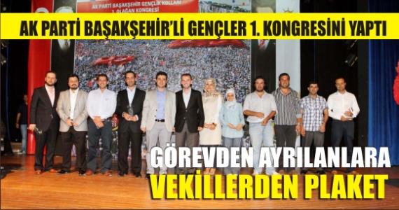Başakşehir'de AK Gençlerin Kongre Şöleni