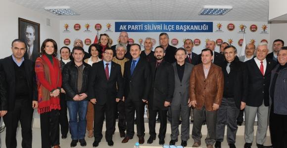 Başkan Çağırıcı Silivri'de belediyeciliği anlattı
