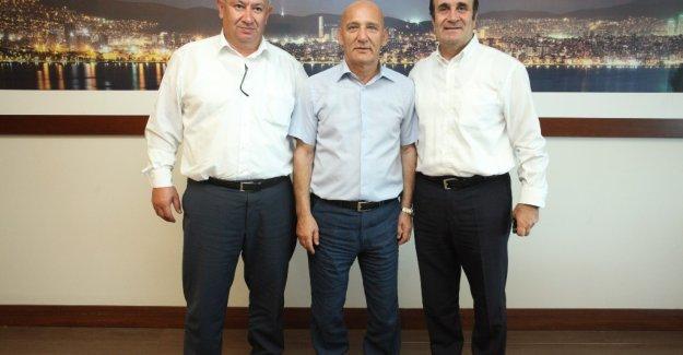CHP PM. üyesi Canalioğlu ve Refahiye Belediye Başkanı Çınar'dan Başkan Öz'e ziyaret