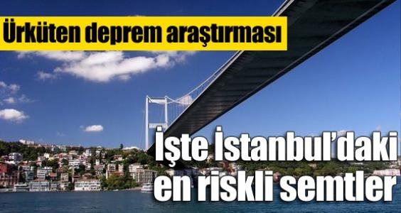 Deprem İstanbul için uyarı mı ?