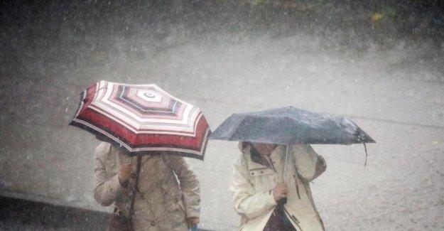 Dikkat !Kuvvetli yağış var