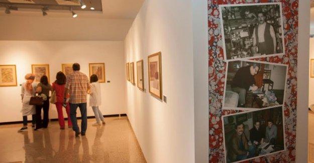 Ebru Sanatının Büyük Ustası Düzgünman Anılıyor