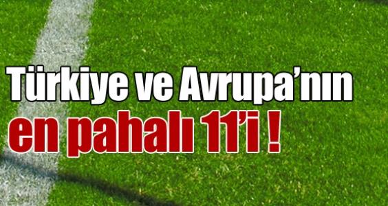En pahalı 11'de 6 Fenerbahçeli