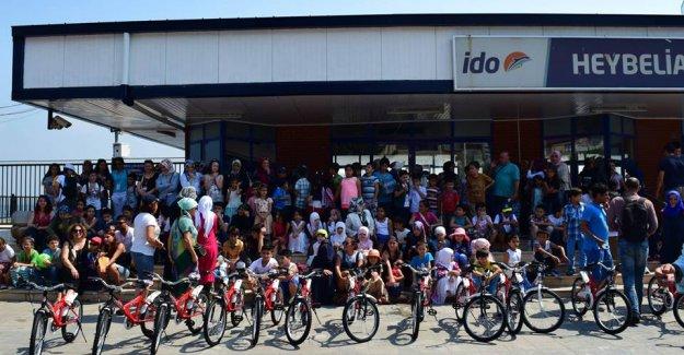 Engelliler Bisiklet Şenliği'nde Pedal Çevirdi