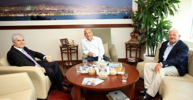 Erzincan Milletvekili ve Belediye Başkanlarından Başkan Altınok Öz'e ziyaret