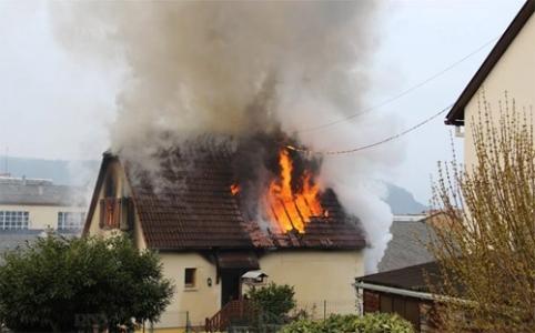 Fransa'da yangın: 1 Türk öldü