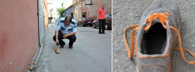 Hırsızı Külkedisi gibi ayakkabısından bulacaklar!