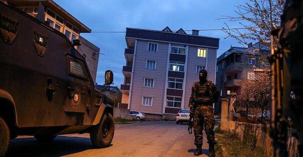 İstanbul'da 'terör' operasyonu
