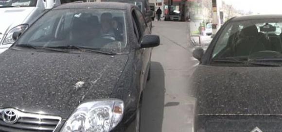 İstanbul'a gökyüzünden çamur yağdı