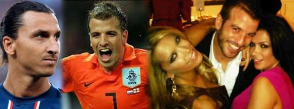 İşte dünya futbolunun konuştuğu aşk üçgeni