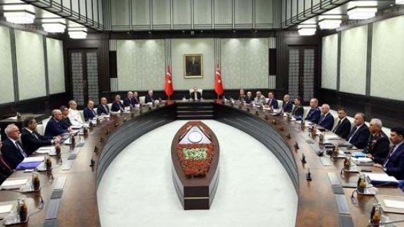 Milli Güvenlik Kurulu'nun 2017 yılındaki ilk toplantısı 8 saat sürdü