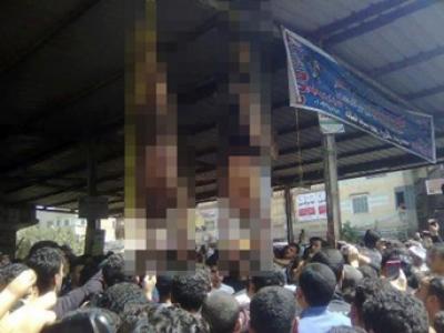Mısır'da hırsızların cezasını halk kesti
