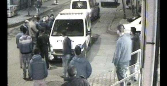 Polis şiddeti iddiası kamerada