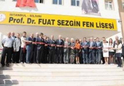 Silivri Prof. Dr. Fuat Sezgin Fen Lisesi Açıldı