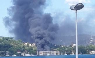 Beykoz Kundura Fabrikası'nda yangın