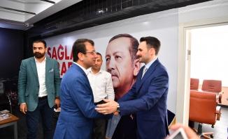 İmamoğlu Ak Parti İlçe Başkanını Ziyaret Etti
