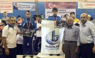 15 Temmuz Şehitler ve Gaziler Wushu Kupası'nda Bağcılar Belediyesi birinci oldu