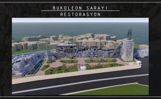 Boukoleon Sarayını İstanbul Büyükşehir Restore Edecek