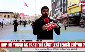Ak Parti mi yoksa HDP mi Kürtleri temsil ediyor?