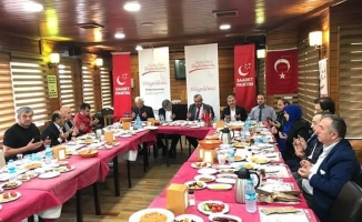 Kabak Zeytinburnu Mahalle muhtarlarıyla kahvaltıda bir araya geldi