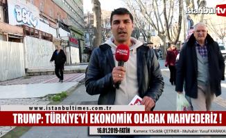 Trump Twitter'dan Türkiye'yi tehdit etti