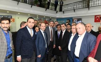 Ardahanlılardan Azmi Ekinci'ye hayırlı olsun ziyareti