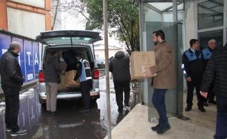 Esenyurt Zabıtası'ndan Mardinli yetimlere yardım