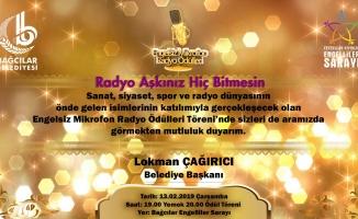 """""""Türkiye'nin en iyi radyocuları ödüllerini alıyor"""""""