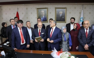 Duayen Başkan Beykoz'a Hizmete Başladı