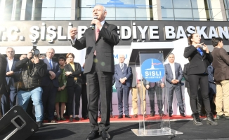 Chp Genel Başkanı Kemal Kılıçdaroğlu, Şişli Belediyesi Halkla İlişkiler Sistemi Komşu Masa Açılışında!