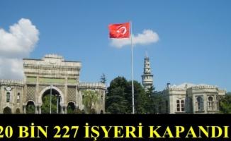 İstanbul'da 2019'da 20 Bin İşyeri Kapandı,Ya 2020'de Ne Kadar Kapacak ?