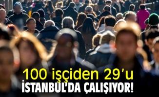 100 İşçiden 29' u İstanbul'da, Yüzde 22'si Kayıt Dışı
